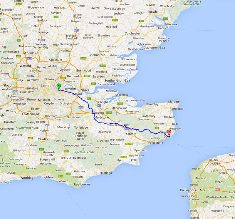 london to paris 2014 day 1 london to dover tales from my bike